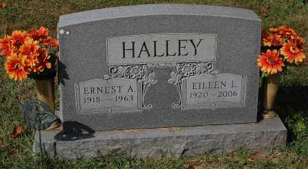 HALLEY, ERNEST - Gallia County, Ohio | ERNEST HALLEY - Ohio Gravestone Photos