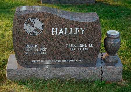 HALLEY, GERALDINE M - Gallia County, Ohio | GERALDINE M HALLEY - Ohio Gravestone Photos