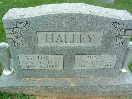 HALLEY, IDA V. - Gallia County, Ohio | IDA V. HALLEY - Ohio Gravestone Photos