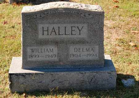 HALLEY, WILLIAM - Gallia County, Ohio | WILLIAM HALLEY - Ohio Gravestone Photos