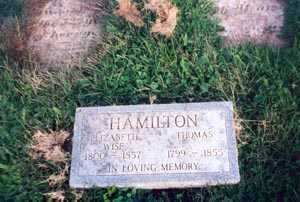 HAMILTON, THOMAS - Gallia County, Ohio | THOMAS HAMILTON - Ohio Gravestone Photos
