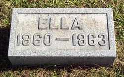 HAMILTON, ELLA - Gallia County, Ohio | ELLA HAMILTON - Ohio Gravestone Photos