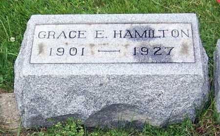 HAMILTON, GRACE E. - Gallia County, Ohio | GRACE E. HAMILTON - Ohio Gravestone Photos