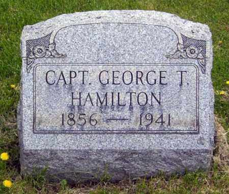 HAMILTON, GEORGE THOMAS - Gallia County, Ohio | GEORGE THOMAS HAMILTON - Ohio Gravestone Photos