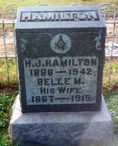 HAMILTON, BELLE M. - Gallia County, Ohio | BELLE M. HAMILTON - Ohio Gravestone Photos