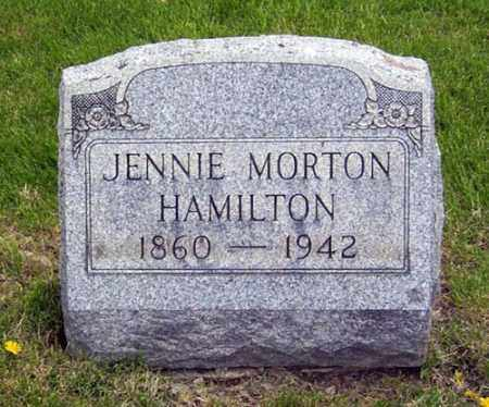 "MORTON HAMILTON, HARTY JANE ""JENNIE"" - Gallia County, Ohio 