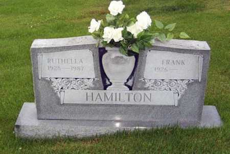 COTTON HAMILTON, RUTHELLA J. - Gallia County, Ohio | RUTHELLA J. COTTON HAMILTON - Ohio Gravestone Photos