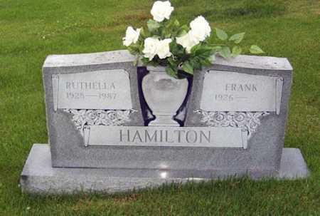 HAMILTON, RUTHELLA J. - Gallia County, Ohio | RUTHELLA J. HAMILTON - Ohio Gravestone Photos