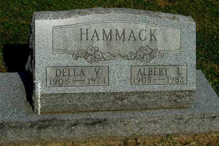 HAMMACK, ALBERT L - Gallia County, Ohio | ALBERT L HAMMACK - Ohio Gravestone Photos