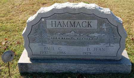 HAMMACK, JEAN - Gallia County, Ohio | JEAN HAMMACK - Ohio Gravestone Photos