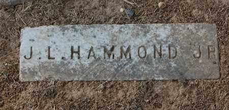 HAMMOND, J.L. - Gallia County, Ohio | J.L. HAMMOND - Ohio Gravestone Photos