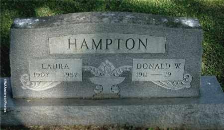 HAMPTON, LAURA - Gallia County, Ohio | LAURA HAMPTON - Ohio Gravestone Photos