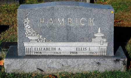 HAMRICK, ELLIS L. - Gallia County, Ohio | ELLIS L. HAMRICK - Ohio Gravestone Photos