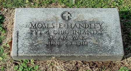 HANDLEY, MOSES ELLSWORTH - Gallia County, Ohio | MOSES ELLSWORTH HANDLEY - Ohio Gravestone Photos