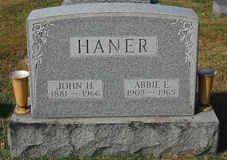HANER, ABBIE E. - Gallia County, Ohio | ABBIE E. HANER - Ohio Gravestone Photos