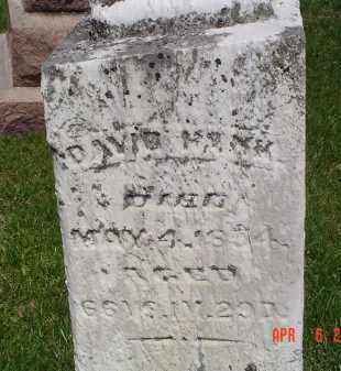 HANK, DAVID - Gallia County, Ohio | DAVID HANK - Ohio Gravestone Photos