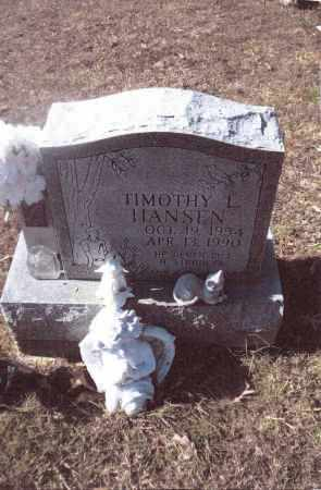 HANSEN, TIMOTHY L. - Gallia County, Ohio | TIMOTHY L. HANSEN - Ohio Gravestone Photos