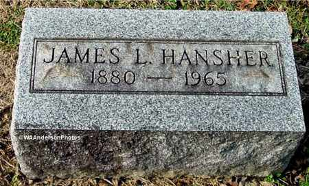 HANSHER, JAMES L - Gallia County, Ohio | JAMES L HANSHER - Ohio Gravestone Photos