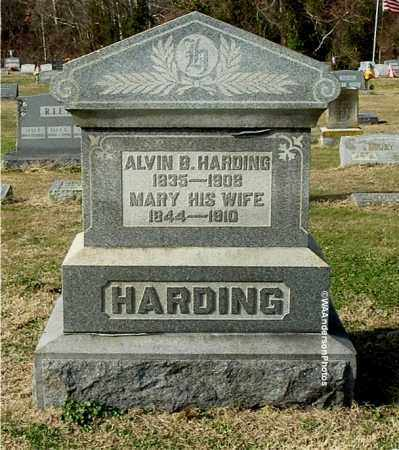 HARDING, MARY - Gallia County, Ohio | MARY HARDING - Ohio Gravestone Photos