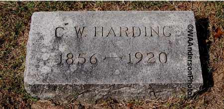HARDING, CASPER W - Gallia County, Ohio | CASPER W HARDING - Ohio Gravestone Photos