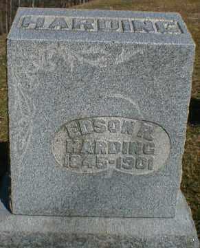HARDING, EDSON - Gallia County, Ohio | EDSON HARDING - Ohio Gravestone Photos