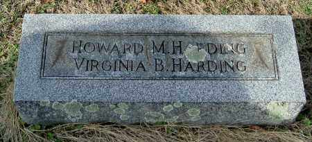 HARDING, VIRGINIA B - Gallia County, Ohio | VIRGINIA B HARDING - Ohio Gravestone Photos
