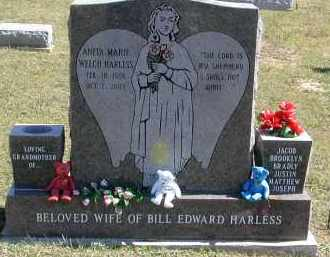 HARLESS, ANITA - Gallia County, Ohio | ANITA HARLESS - Ohio Gravestone Photos
