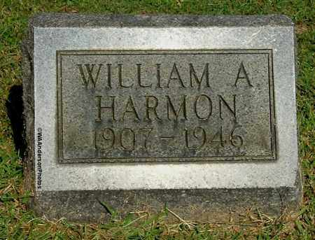 HARMON, WILLIAM A - Gallia County, Ohio | WILLIAM A HARMON - Ohio Gravestone Photos
