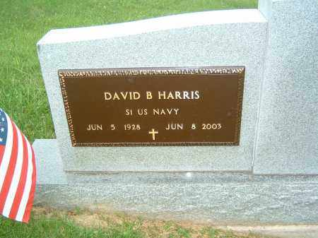 HARRIS, DAVID B. - Gallia County, Ohio | DAVID B. HARRIS - Ohio Gravestone Photos