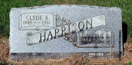 HARRISON, CLYDE R - Gallia County, Ohio | CLYDE R HARRISON - Ohio Gravestone Photos