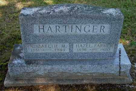 HARTINGER, ELIZABETH M - Gallia County, Ohio | ELIZABETH M HARTINGER - Ohio Gravestone Photos