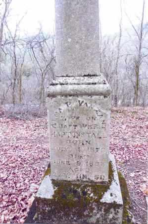 VANZANT HARTONSTALL, ALMA P. - Gallia County, Ohio | ALMA P. VANZANT HARTONSTALL - Ohio Gravestone Photos