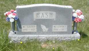HASH, W. GLENN - Gallia County, Ohio | W. GLENN HASH - Ohio Gravestone Photos