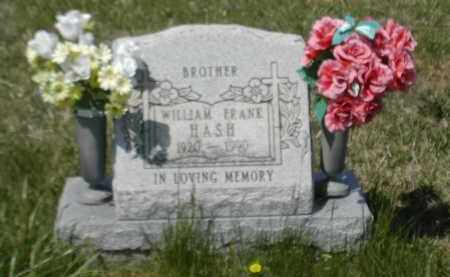 HASH, WILLLIAM - Gallia County, Ohio   WILLLIAM HASH - Ohio Gravestone Photos