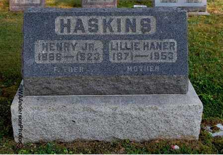 HANER HASKINS, LILLIE - Gallia County, Ohio | LILLIE HANER HASKINS - Ohio Gravestone Photos