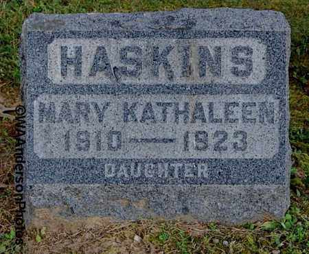 HASKINS, MARY KATHALEEN - Gallia County, Ohio | MARY KATHALEEN HASKINS - Ohio Gravestone Photos