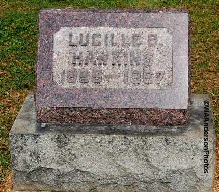 HAWKINS, LUCILLE B - Gallia County, Ohio | LUCILLE B HAWKINS - Ohio Gravestone Photos