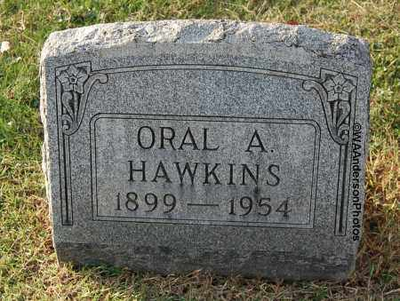 HAWKINS, ORAL A - Gallia County, Ohio | ORAL A HAWKINS - Ohio Gravestone Photos