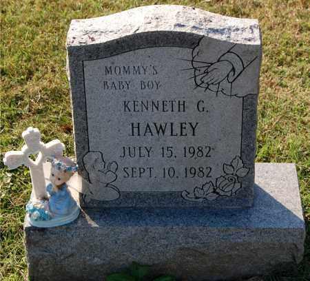 HAWLEY, KENNETH G - Gallia County, Ohio | KENNETH G HAWLEY - Ohio Gravestone Photos
