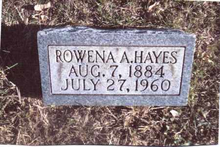HAYES, ROWENA A. - Gallia County, Ohio | ROWENA A. HAYES - Ohio Gravestone Photos