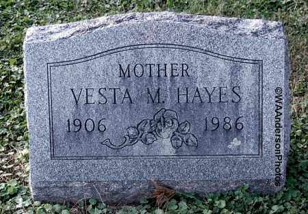 HAYES, VESTA M - Gallia County, Ohio | VESTA M HAYES - Ohio Gravestone Photos