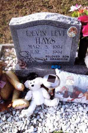 HAYS, DEVIN LEVI - Gallia County, Ohio | DEVIN LEVI HAYS - Ohio Gravestone Photos