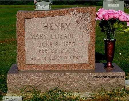 HENRY, MARY ELIZABETH - Gallia County, Ohio | MARY ELIZABETH HENRY - Ohio Gravestone Photos
