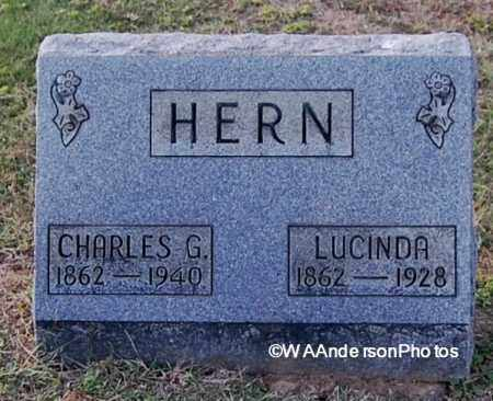 HERN, LUCINDA - Gallia County, Ohio | LUCINDA HERN - Ohio Gravestone Photos