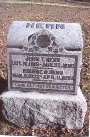 HERN, PHOEBE G. - Gallia County, Ohio | PHOEBE G. HERN - Ohio Gravestone Photos