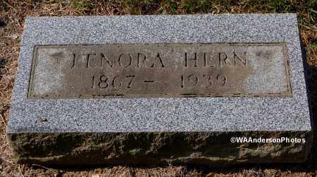 HERN, LENORA - Gallia County, Ohio | LENORA HERN - Ohio Gravestone Photos