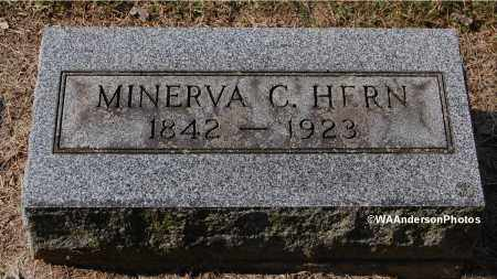POINDEXTER HERN, MINERVA C - Gallia County, Ohio | MINERVA C POINDEXTER HERN - Ohio Gravestone Photos