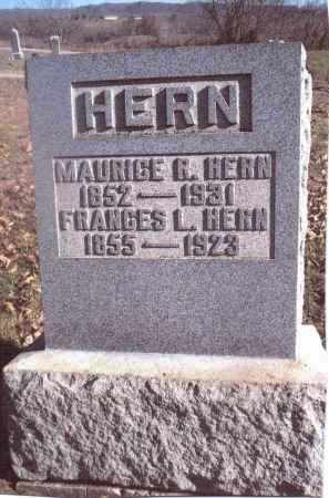 HERN, FRANCES L. - Gallia County, Ohio | FRANCES L. HERN - Ohio Gravestone Photos