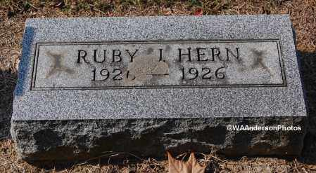 HERN, RUBY - Gallia County, Ohio | RUBY HERN - Ohio Gravestone Photos