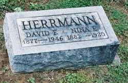 HERRMANN, DAVID FREDERICK - Gallia County, Ohio | DAVID FREDERICK HERRMANN - Ohio Gravestone Photos